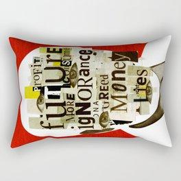 Mankind Motivation 14 Rectangular Pillow