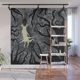 Silenced Secrets in the Thorns Wall Mural