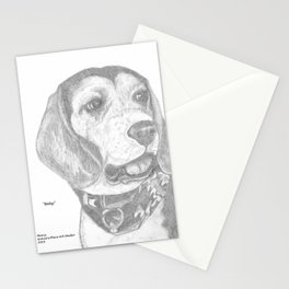 Portrait of Betsy Stationery Cards