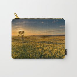 Open Field Sunset Views Carry-All Pouch