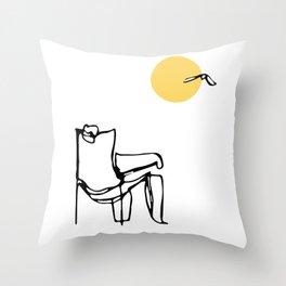 La Vida Loca Throw Pillow