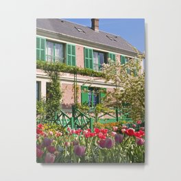 Claude Monet's House at Giverny 2 Metal Print