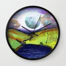 La Luna 15 Wall Clock