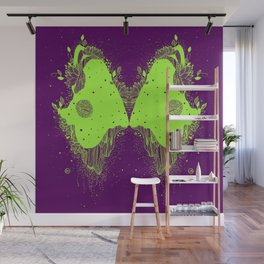 The eyes of universe Wall Mural