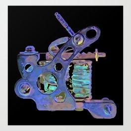 Machine eight Art Print