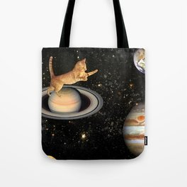 Cat.In.Space. Tote Bag