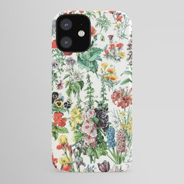 Adolphe Millot - Fleurs A - French vintage poster iPhone Case