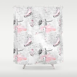 Figure Skating #1 Shower Curtain