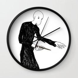 Voldemort Illustration Wall Clock