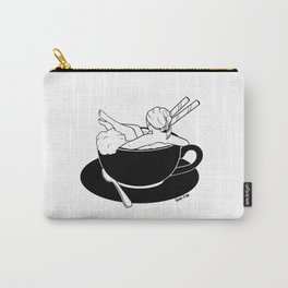 Cappuccino Bath Carry-All Pouch