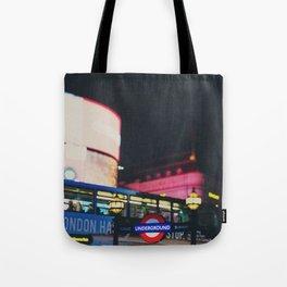 London nightlife ... Tote Bag