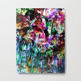 Misted Floral Metal Print