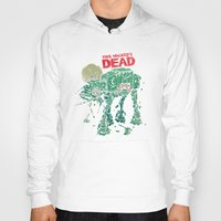 dead Hoodies featuring Walker's Dead by Victor Vercesi