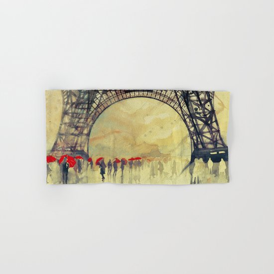 Winter in Paris Hand & Bath Towel
