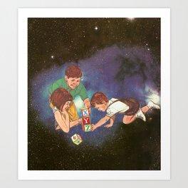 Space Play Art Print