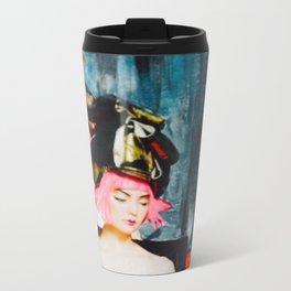 Modern Teatime Metal Travel Mug