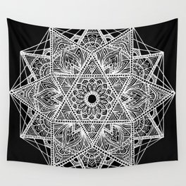 Untitled I (black) Wall Tapestry