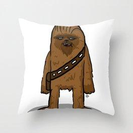 ooooie chewie Throw Pillow
