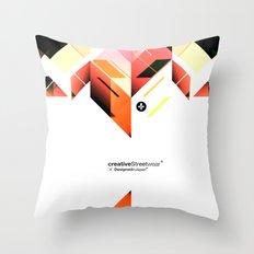 Abstrakt. Throw Pillow