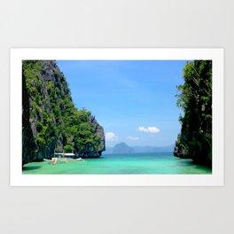 Filipino Lagoon Art Print