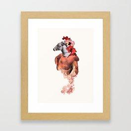 Donkey Rosario Framed Art Print