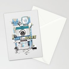 Ten Golden Rules Stationery Cards