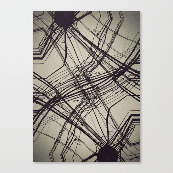 unknow what i know Canvas Print