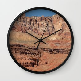 Colorful Mesas 2 - Desert Southwest Wall Clock