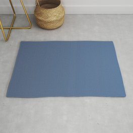 Dark Blue Gradient Rug
