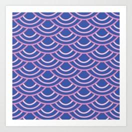 Blushed Oyster Art Print
