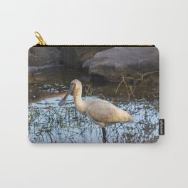 Royal Spoonbill Carry-All Pouch