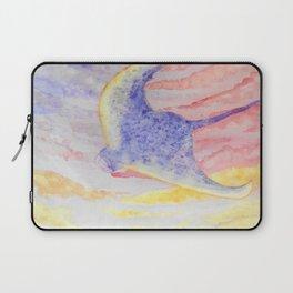 Flying manta ray Laptop Sleeve