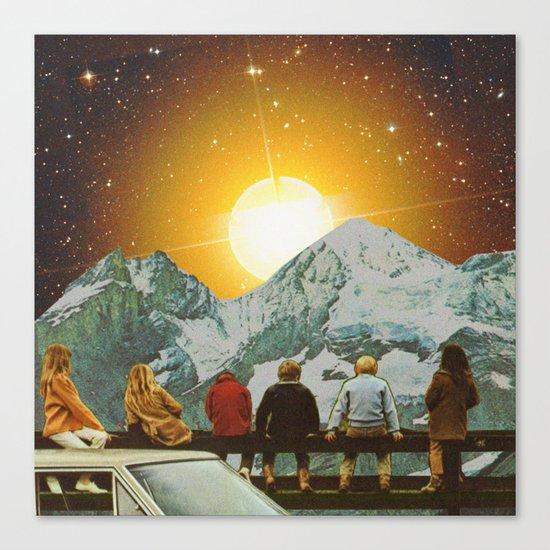Children of mountain  Canvas Print