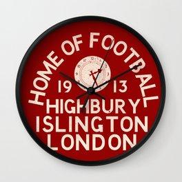 Highbury Football Ground Wall Clock