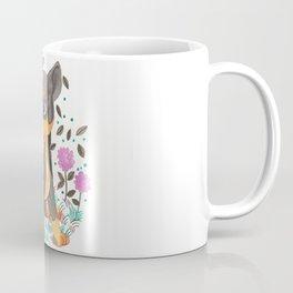 Min Pin Nursery Illustration Coffee Mug