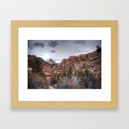 East Rim Framed Art Print