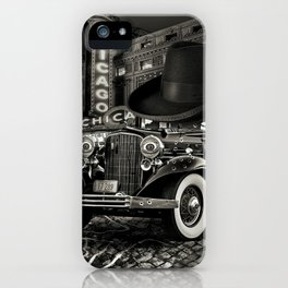 Don Cadillacchio Black and White iPhone Case