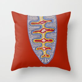 Diatom nr2 Throw Pillow