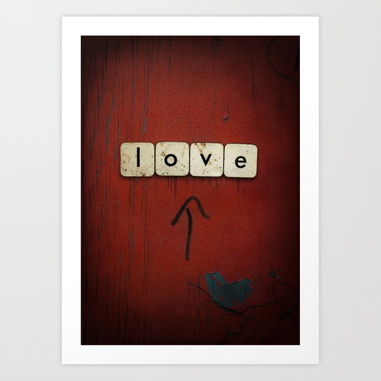 Love Found Art Print