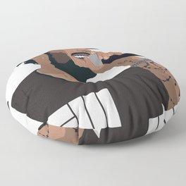 Russ Cartoon3 Floor Pillow