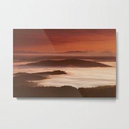 Sunrise over Eugene Metal Print