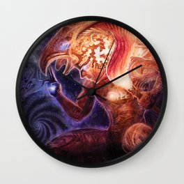 Neolithic Man (Astral Waves CD cover) Wall Clock