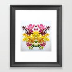 Botanical Crest 1 Framed Art Print
