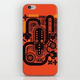 Nonsensical Doodle #2 iPhone Skin