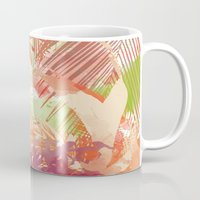 tropical Mugs featuring Tropical by Grace