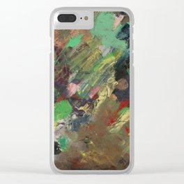 Depths and Black Clear iPhone Case