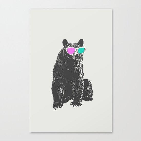 3D is Un-bear-able  Canvas Print