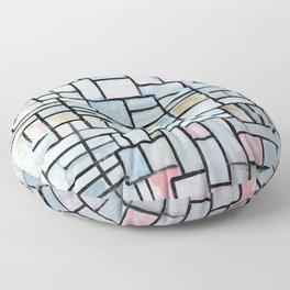 Piet Mondriaan Composition No. IV Floor Pillow