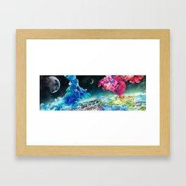Subspace Framed Art Print