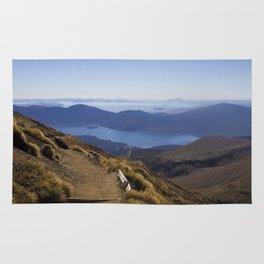 A long walk home - New Zealand Rug
